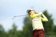2012年 日本女子オープンゴルフ選手権競技 初日 金ナリ