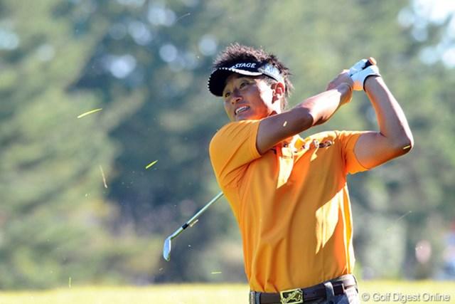 2012年 コカ・コーラ東海クラシック 2日目 宮本勝昌 3バーディ、3ボギーという大人しいゴルフながら、上位陣が伸びない展開の中で、順位は1つ上がりました~。4位T