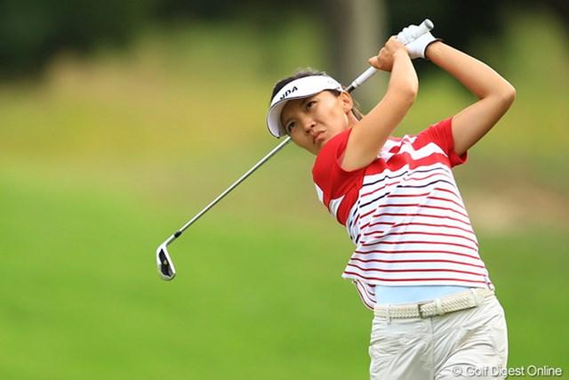 2012年 日本女子オープンゴルフ選手権競技 2日目 テレサ・ルー 今日は出入りが激しかったけど、4位タイフィニッシュです。