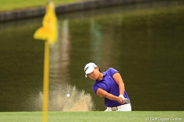 2012年 日本女子オープンゴルフ選手権競技 2日目 ヤニ・ツェン 明日からは2サムでのラウンド。明日は藍ちゃんと同組です。ギャラリー山盛りでしょうね。