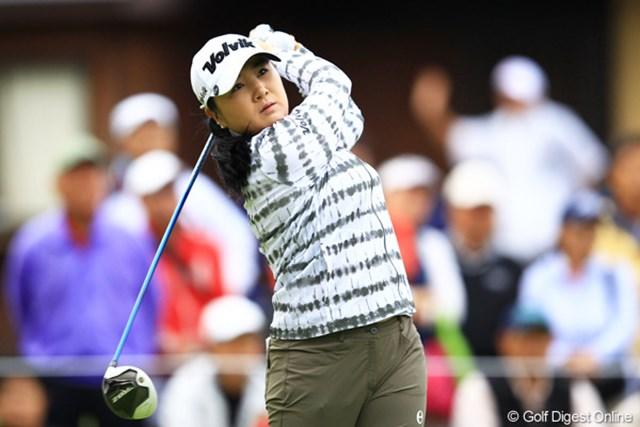 2012年 日本女子オープンゴルフ選手権競技 2日目 ジャン・ジョン すごく久々にJJを撮りましたよ。日本女子オープン歴代チャンピオンです。