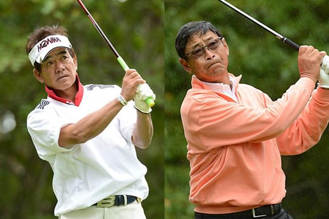 佐藤剛平、デビッド・イシイ 4アンダーの「68」をマークして首位に立った佐藤とデビッド、2日間の短期決戦を制するのは・・・(※画像提供:PGA)