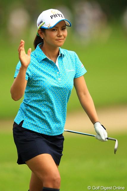 2012年 日本女子オープンゴルフ選手権競技  3日目  宮里藍 連続バーディフィニッシュで首位に2打差に詰め寄り、最終日を迎える宮里藍
