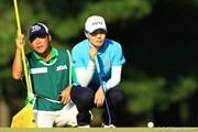 2012年 日本女子オープンゴルフ選手権競技  3日目 金ナリ