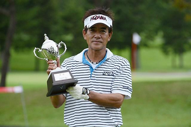 2日間の短期決戦を制した佐藤剛平。次週はメジャー戦で連覇を狙う