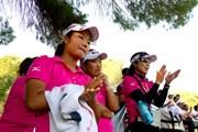 2012年 世界女子アマチュアゴルフチーム選手権 最終日 松原由美、鬼頭桜