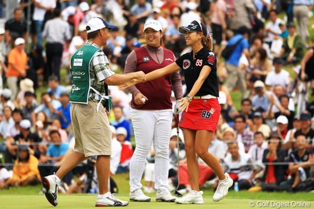 2012年 日本女子オープンゴルフ選手権競技 最終日 木戸愛 フォン・シャンシャンとの経験の差がはっきりと現れた最終日。木戸愛の次なる成長への糧となるか