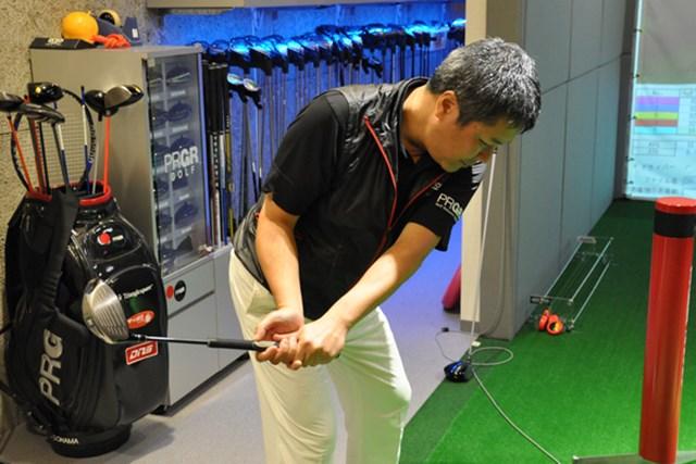 ゴルフ部員Kさん レッスン5