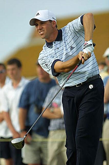 2003年 全英オープン 3日目 セルヒオ・ガルシア 攻めのゴルフでメジャー初制覇を狙うS.ガルシア(photo/BEYONDSHIP)