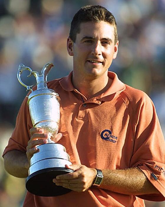 ツアー1年目のB.カーティスが、1アンダーでツアー初優勝とメジャータイトルも掴んだ!(photo/BEYONDSHIP) 2003年 全英オープン 最終日 ベン・カーティス