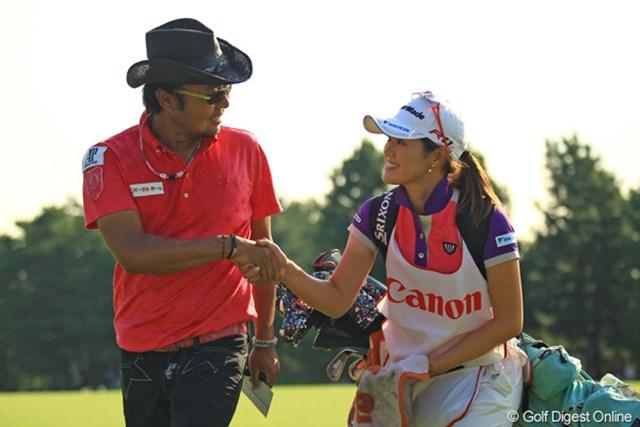 しのぶちゃんも2日間、本当にお疲れ様でした!来週からはまた自分のゴルフで魅せて下さいね。