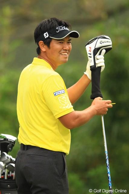 2012年 キヤノンオープン 3日目 武藤俊憲 優勝へ向けて着々と・・・27位、10位、5位と徐々に順位を上げて来ました。首位とは4打差です。