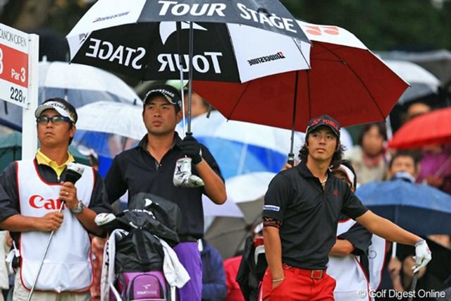 石川遼は前半から差を拡げられ、池田勇太をとらえられなかった。