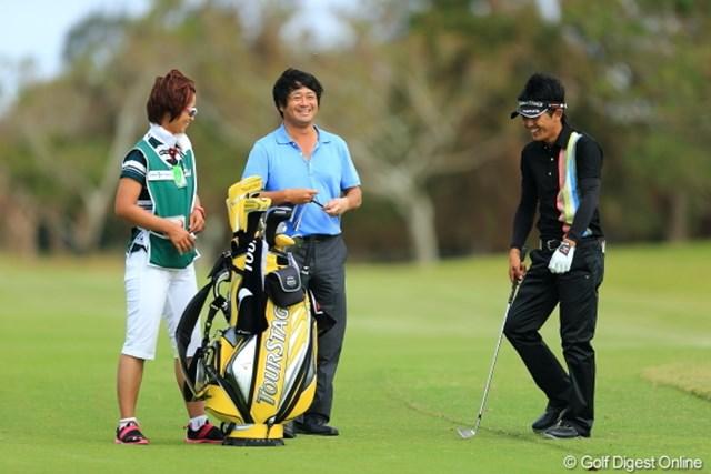 2012年 日本オープンゴルフ選手権競技 事前 横田真一 今週はTVの解説。本当はプレイしたかった?