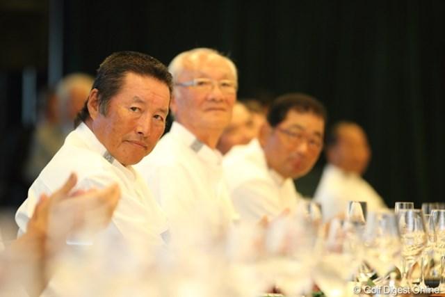 2012年 日本オープンゴルフ選手権競技 事前 尾崎将司 会場内で一番鋭い眼光を放っていた。