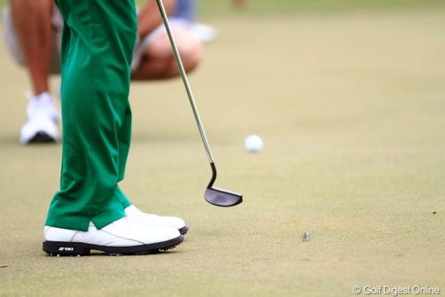 2012年 日本オープンゴルフ選手権競技 事前 遼くんパター 先週から変えた遼君のパター。。。どこの?