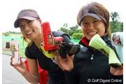辻村明須香(左)と永田あおい