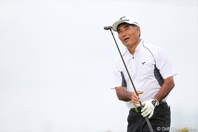沖縄宮古島出身の友利勝良。日本人として初めて欧州ツアーのシード権を獲得した選手でもある。