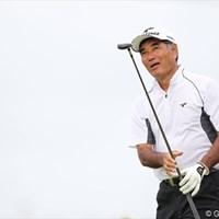 沖縄宮古島出身の友利勝良。日本人として初めて欧州ツアーのシード権を獲得した選手でもある。 2012年日本OP写真速報 初日/友利勝良