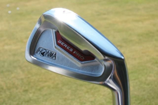 新製品レポート 本間ゴルフ BERES PRO II アイアン NO.1 シャープさとやさしさを兼ね備えた「本間ゴルフ BERES PRO II アイアン」を試打レポート