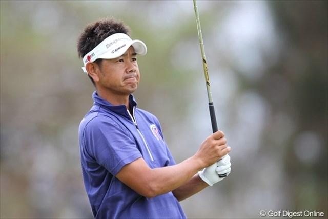 初の日本オープンタイトルへ熱い気持ちで挑んでいる藤田寛之。初日は3オーバーとまずまずのスタート