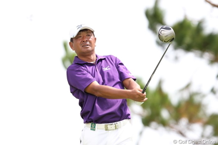 あれ?小堺さん? 2012年 日本オープンゴルフ選手権競技 初日 白潟英純