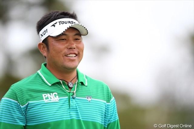09年のチャンピオン、小田龍一。この笑顔が魅力!