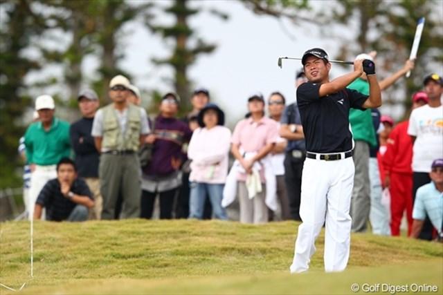 ボギーが先行する展開に忍耐を続けた池田勇太は、終盤に巻き返した。