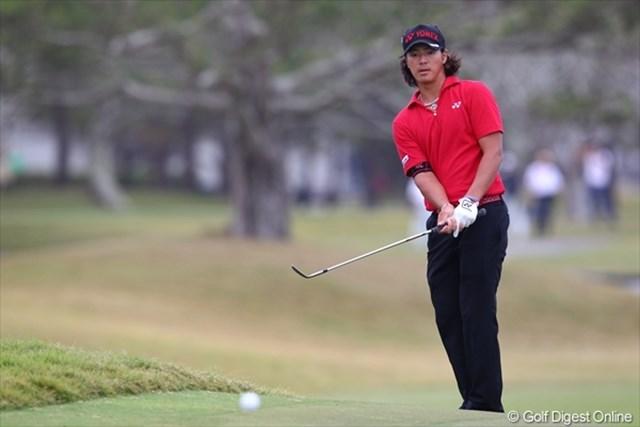 大会3日目、「72」の1オーバーで回った石川遼は通算13オーバーで最終日へ挑む
