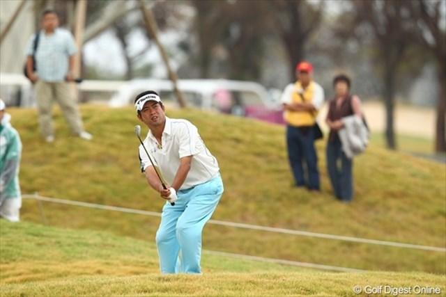 先週優勝の池田勇太。沖縄でも好調さをキープしています。今日上との差を縮められれば逆転Vも十分狙える!