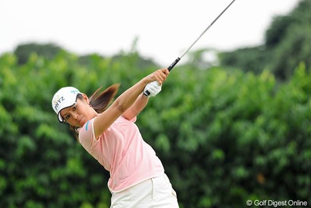 2012年 サイム・ダービー LPGA マレーシア 3日目 宮里藍 4時間に及ぶ長い中断のあともショット、パットともに好調を持続した宮里藍