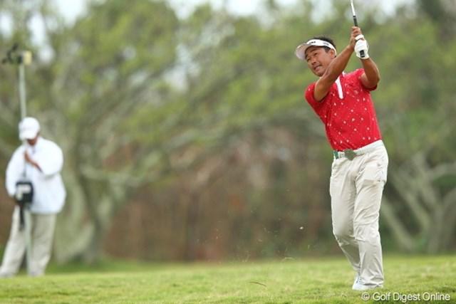 2012年 日本オープンゴルフ選手権競技 3日目 久保谷健一 パットに苦しみ、後退した久保谷健一もアジアンツアーでの経験が豊富な選手のひとりだ。