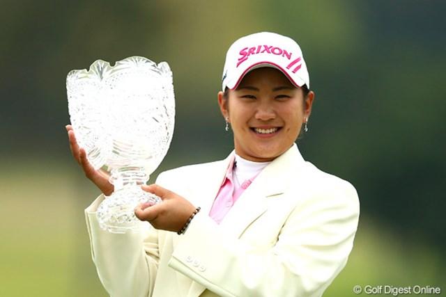 2012年 富士通レディース 最終日 成田美寿々 20歳の誕生日週に狙い通り逆転優勝を果たした成田美寿々