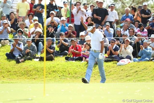 2012年 日本オープンゴルフ選手権競技 最終日 久保谷健一 この時のチップインが優勝をたぐり寄せたのかな。