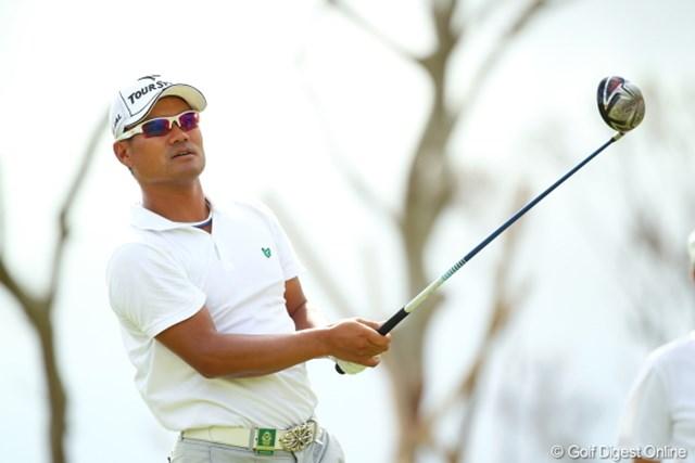 2012年 日本オープンゴルフ選手権競技 最終日 宮里優作 がんばってくれよー地元が応援してるのに。