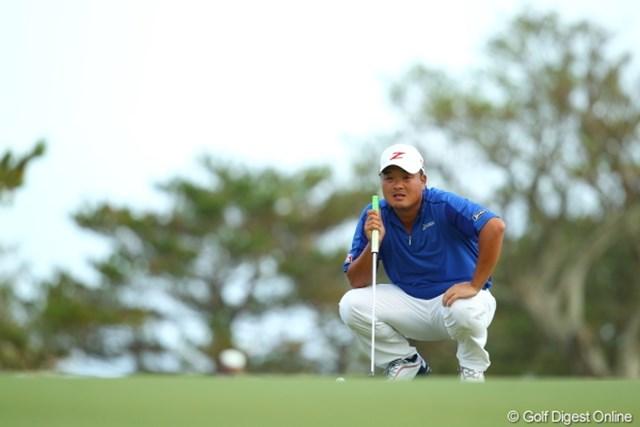 2012年 日本オープンゴルフ選手権競技 最終日 小田孔明 風に強いことが証明されたね。
