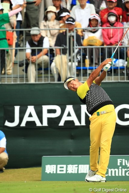 2012年 日本オープンゴルフ選手権競技 最終日 松山英樹 当たり前のようにベストアマに輝く実力者!