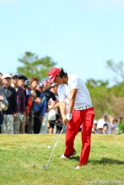 2012年 日本オープンゴルフ選手権競技 最終日 石川遼 メチャうまです。
