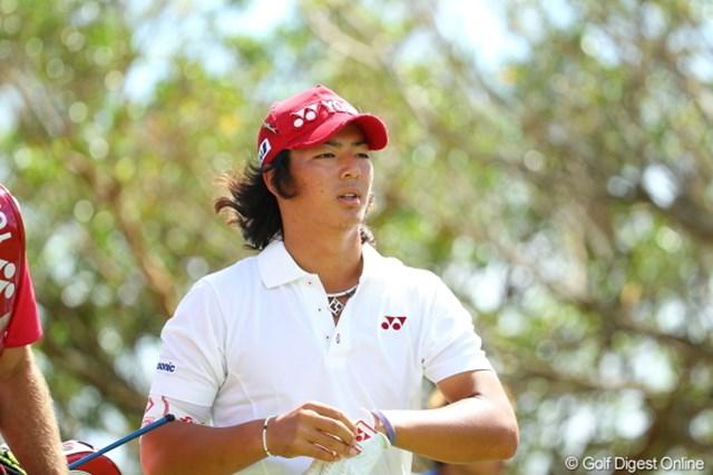 2012年 日本オープンゴルフ選手権競技 最終日 石川遼 良く見るとアゴ髭も生やしてるんじゃん!