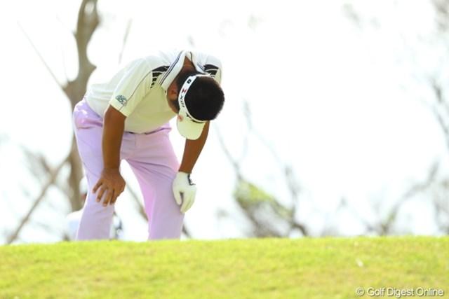 2012年 日本オープンゴルフ選手権競技 最終日 池田勇太 そんなに具合悪いならやめたらどうだろう?