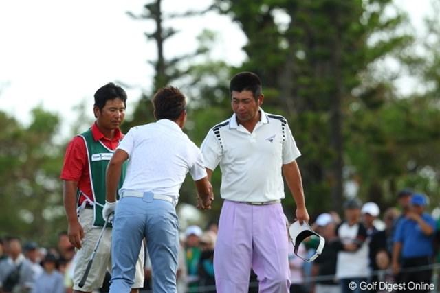 2012年 日本オープンゴルフ選手権競技 最終日 池田勇太 最後まで完走、とりあえず倒れなくて良かった。
