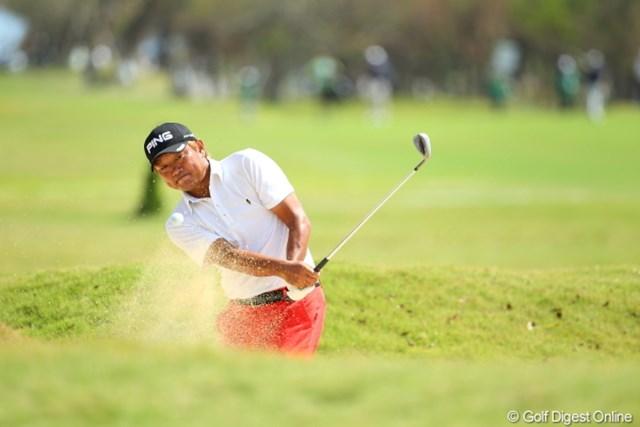 2012年 日本オープンゴルフ選手権競技 最終日 塚田好宣 飛ばしだけじゃなく小技を絶妙。