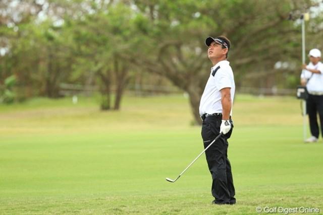 2012年 日本オープンゴルフ選手権競技 最終日 平塚哲二 今週は風との戦い。