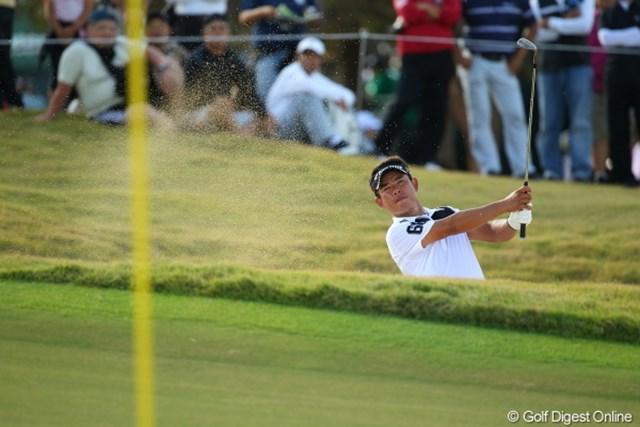 2012年 日本オープンゴルフ選手権競技 最終日 平塚哲二 今日はパットが決まらなかったのか?寄せワンが少なかった?