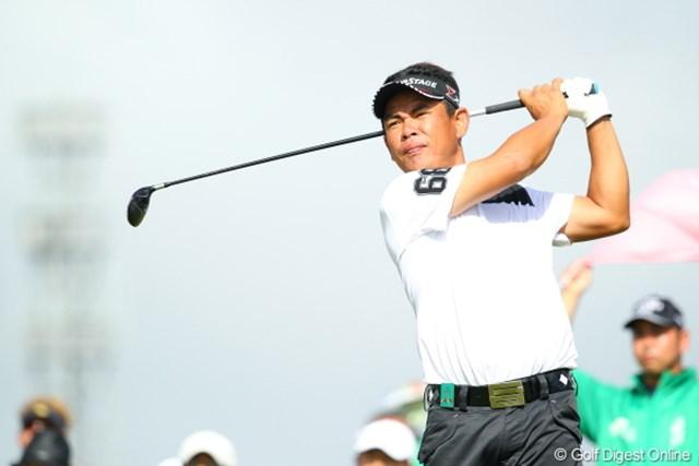 2012年 日本オープンゴルフ選手権競技 最終日 平塚哲二 耐えて耐えて最終日に。。。