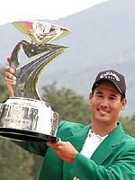 貫禄優勝のD.ウィルソン 2002年 つるやオープンゴルフトーナメント 最終日 ディーン・ウィルソン