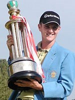 イングランドの21歳J.ローズがクラウンズ最年少優勝