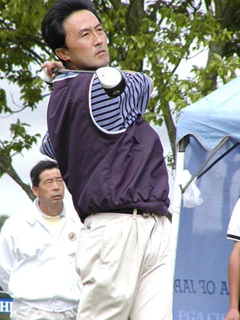 2002年 日本プロゴルフ選手権大会 初日 佐藤英之 復活なるか、佐藤英之