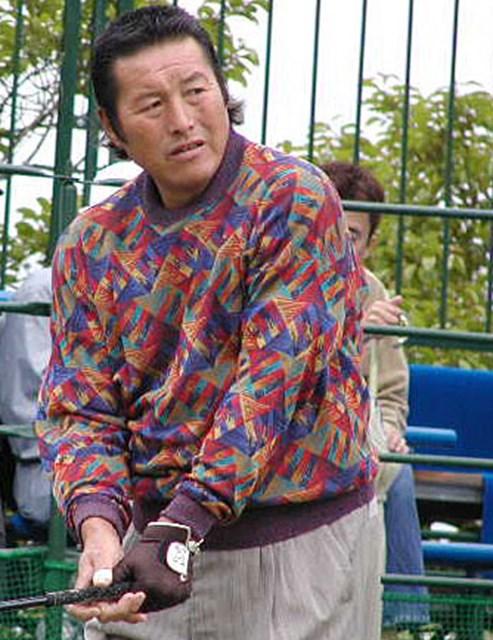 2002年 日本プロゴルフ選手権大会 2日目 尾崎将司 選手権7勝目を狙うジャンボ尾崎