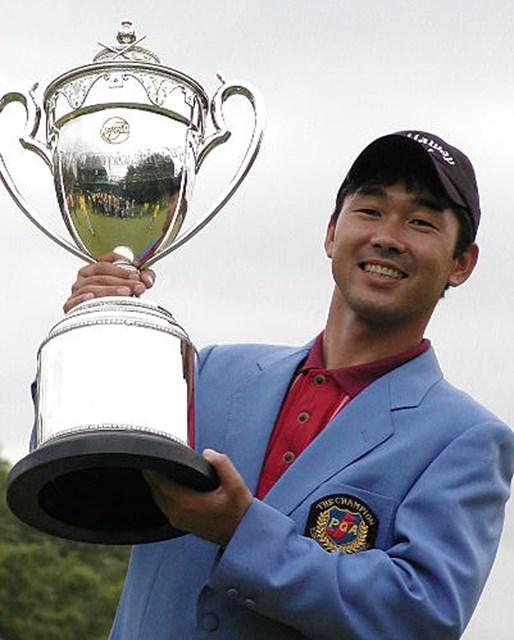 2002年 日本プロゴルフ選手権大会 最終日 久保谷健一 5年ぶりに優勝した久保谷